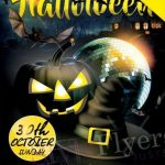 Halloween Night #2 Free PSD Flyer Template