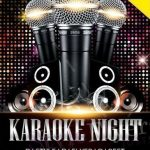 Karaoke Night - Free PSD Flyer
