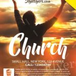 Church – Free PSD Flyer Template