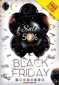 Black Friday #2 – Free PSD Flyer