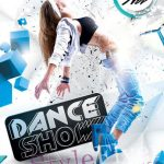 Dance Show – Free PSD Flyer