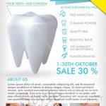 Dental Medicine Free PSD Flyer Template