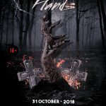 Scary Halloween Party - PSD Flyer-Invitation Template