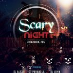Scary Night – Free PSD Flyer