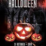 Spooky Night Halloween – PSD Flyer Template