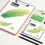 Stationery – Free PSD Mockup