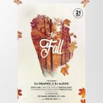 Fall Festival Autumn Free PSD Flyer