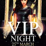 Vip Night - Free PSD Flyer Template