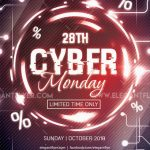 Cyber Monday #2 – Free PSD Flyer Template