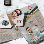 Real Estate - Tri-Fold Brochure - Free PSD Template