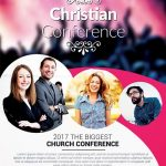 Christian Conference Church – Free PSD Flyer Template