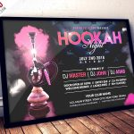 Hookah Night Party – Free PSD Flyer Template