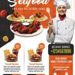 Restaurant Flyer - Free PSD Flyer Template