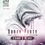 Urban DJ Party – Free PSD Flyer Template
