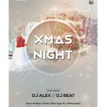 2019 Xmas Night - Free PSD Flyer Template