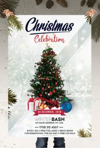 Christmas Celebration – Free PSD Flyer Template