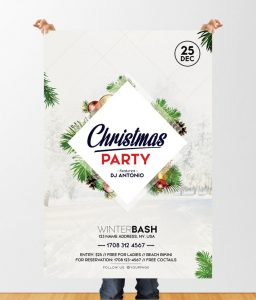 Christmas Party 2019 – Free PSD Flyer Template