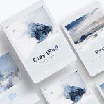 iPad 9.7 Mockup - Free PSD Mockup Template