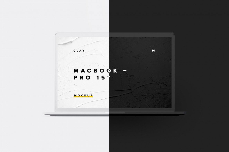 "MacBook Pro 15"" Free PSD Mockup"