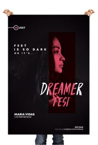 Dark Festival – Free PSD Flyer Template