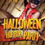 Halloween Horror Party - Free PSD Flyer Template