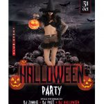 Halloween Party #6 - Free PSD Flyer Template