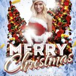 Merry Christmas - Free PSD Flyer Template