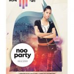 Noo Party – Free Alternative PSD Flyer Template
