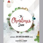 The Christmas Season Free PSD Flyer Template