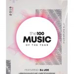 the100 Music – Free Alternative PSD Flyer Template