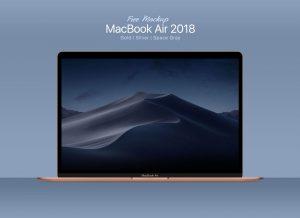MacBook Air – Free Mockup