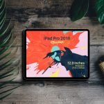 New Full Screen iPad Pro 2018 - Free PSD Mockup