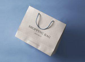 Paper Shopping Bag – Free PSD Mockup