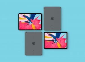 Apple iPad Pro 2018 – Free PSD Mockup