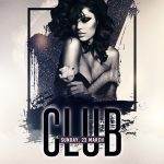 Club & Vibes Free PSD Flyer Template