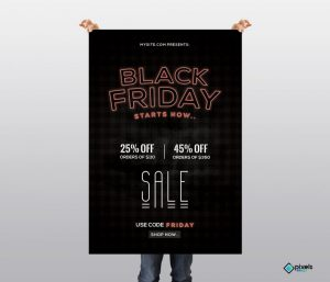 Black Friday #3 – Free PSD Flyer Template