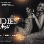 Ladies Night #3 Free PSD Flyer Template