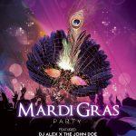 Mardi Gras Free PSD Flyer Template