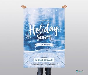 Holiday Season – Free PSD Flyer Template