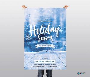 Holiday Season – Free PSD Flyer Template
