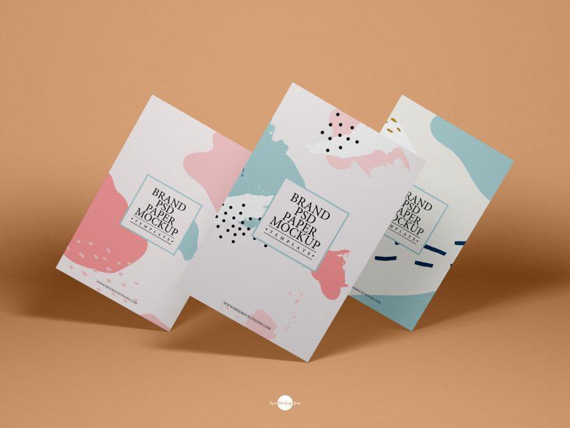 Free Flyer PSD Mockup