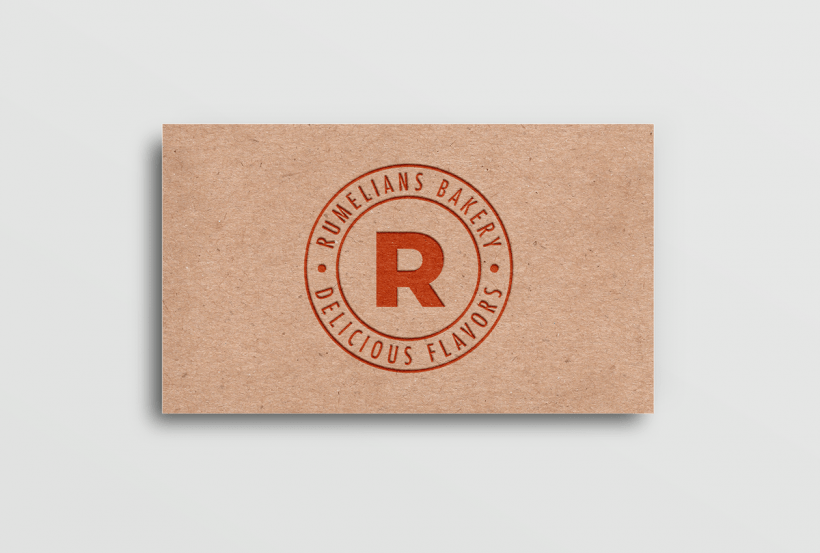 Free Recycled Paper Card Logo Mockup