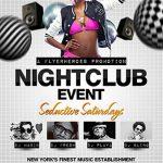 Nightclub Event Free PSD Flyer Template