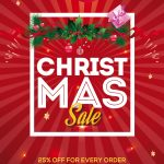 Christmas Sale #2 Free PSD Flyer Template