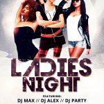 Ladies Night #4 Free PSD Flyer Template