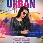 Urban City Free PSD Flyer Template