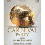 Carnival Party 2019 Premium PSD Flyer Template