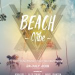 Beach Vibe Free PSD Flyer Template