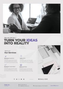 Clean Corporate Free PSD Flyer Template