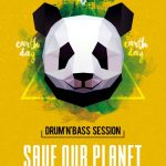 Earth Day Party Free PSD Flyer Template